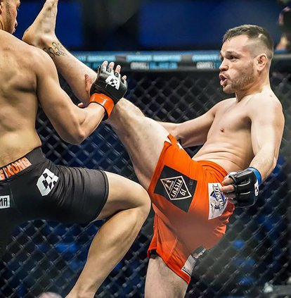 Mike Tubera Knockdown